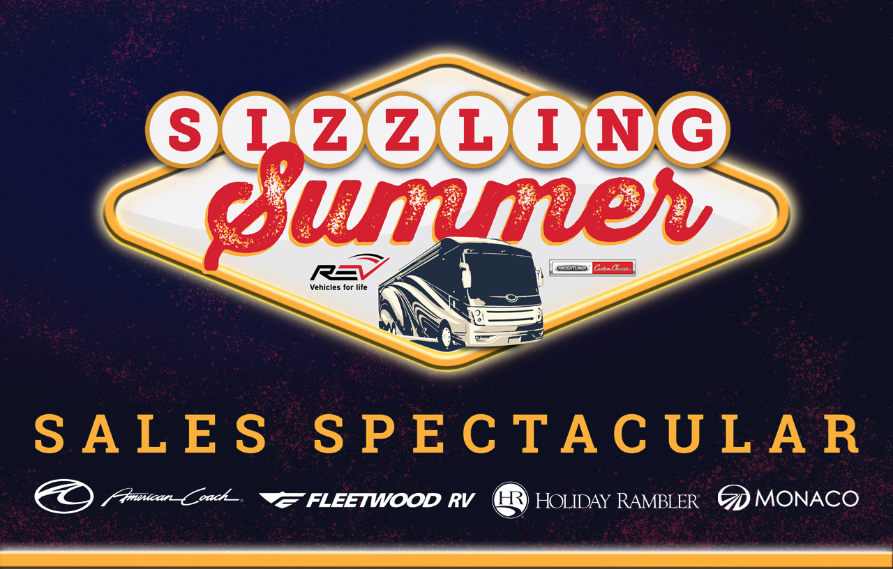 REV Sizzling Summer Sales Event