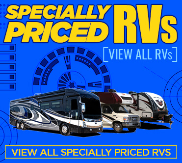New and Used RVs Inventory - Specially Priced RVs