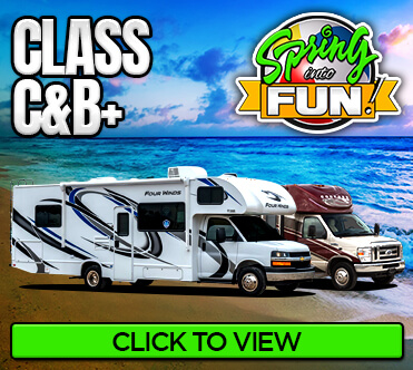 New and Used RVs Inventory - Class C & B+