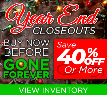 Year End Closeouts All Specials
