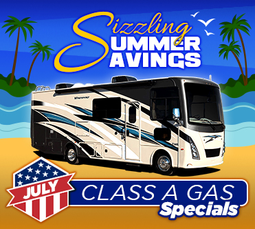 Sizzling Summer Savings July Specials Class A
