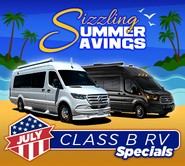Sizzling Summer Savings July Specials Class B