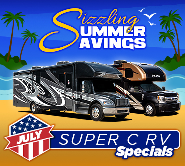 Sizzling Summer Savings July Specials Super C