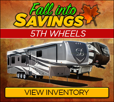 Red Hot Web Specials 5th Wheels