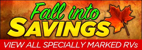 Homepage - Fall Into Savings