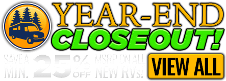 Homepage - Year-End Closeout