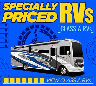 Specially Priced RVs Class A