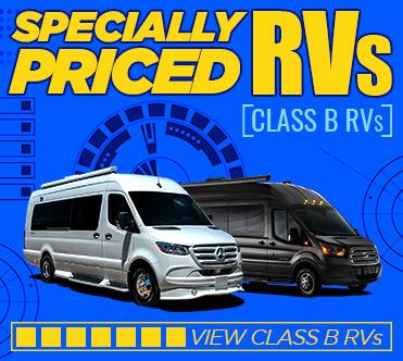 Specially Priced RVs Class B
