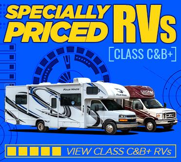 Specially Priced RVs Class C & B+