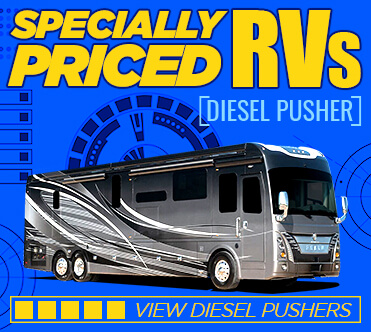 Specially Priced RVs Diesel Pusher
