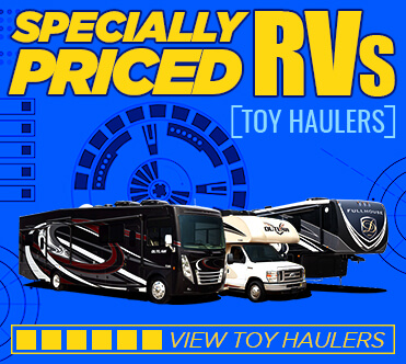 Specially Priced RVs Toy Hauler