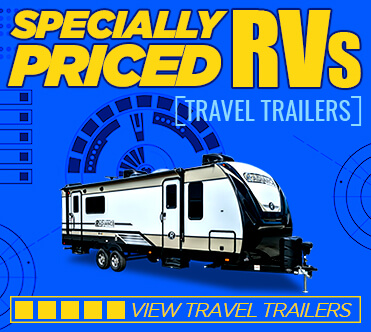 Specially Priced RVs Travel Trailers