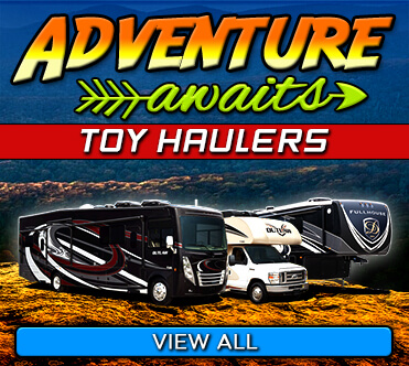 Adventure Awaits - Toy Hauler