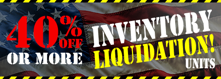Homepage - 40% Off or More Inventory Liquidation Units