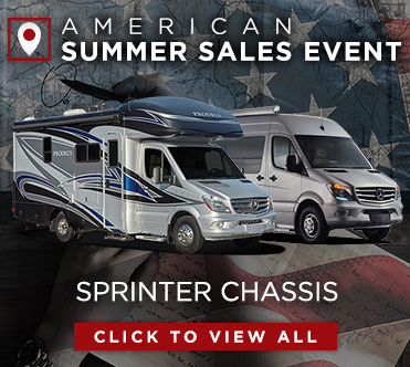American Summer Sales Event Sprinter Chassis