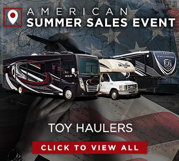 American Summer Sales Event Toy Hauler