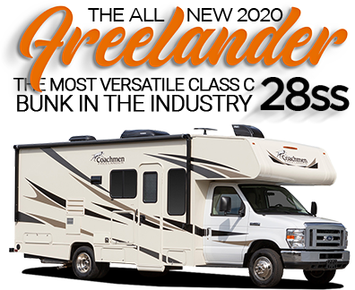 Sidebar 2019 Coachmen Freelander 28SS