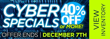 Homepage - Cyber Week Specials