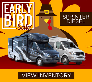 Early Bird Sale Sprinter Chassis