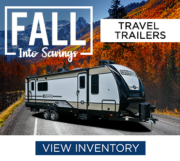 Fall Into Savings Sales Event Travel Trailers