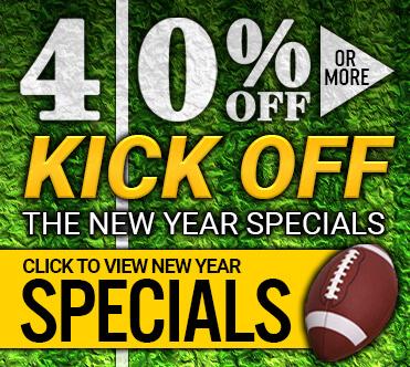40 Percent Off Kick Off The New Year Specials