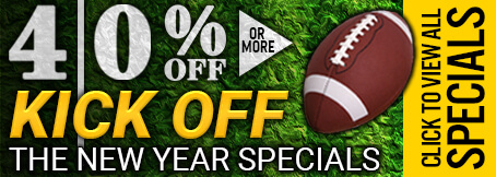 Homepage - 40 Percent Off New Years Sale