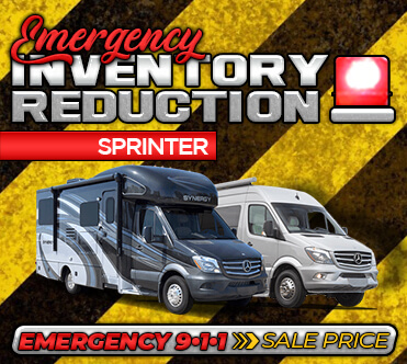 Emergency Inventory Reduction - Sprinter Chassis