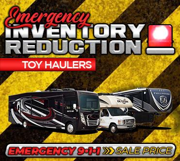 Emergency Inventory Reduction - Toy Hauler