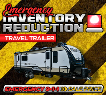 Emergency Inventory Reduction - Travel Trailers