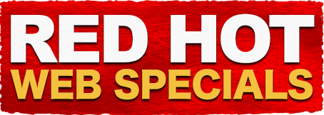 Homepage - Red Hot Web Specials
