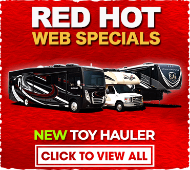 Red Hot Web Specials Toy Hauler