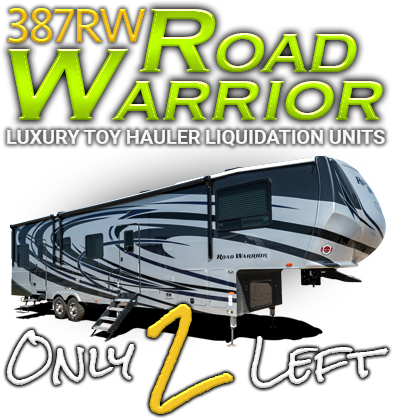 Sidebar 2019 Heartland Road Warrior 387RW