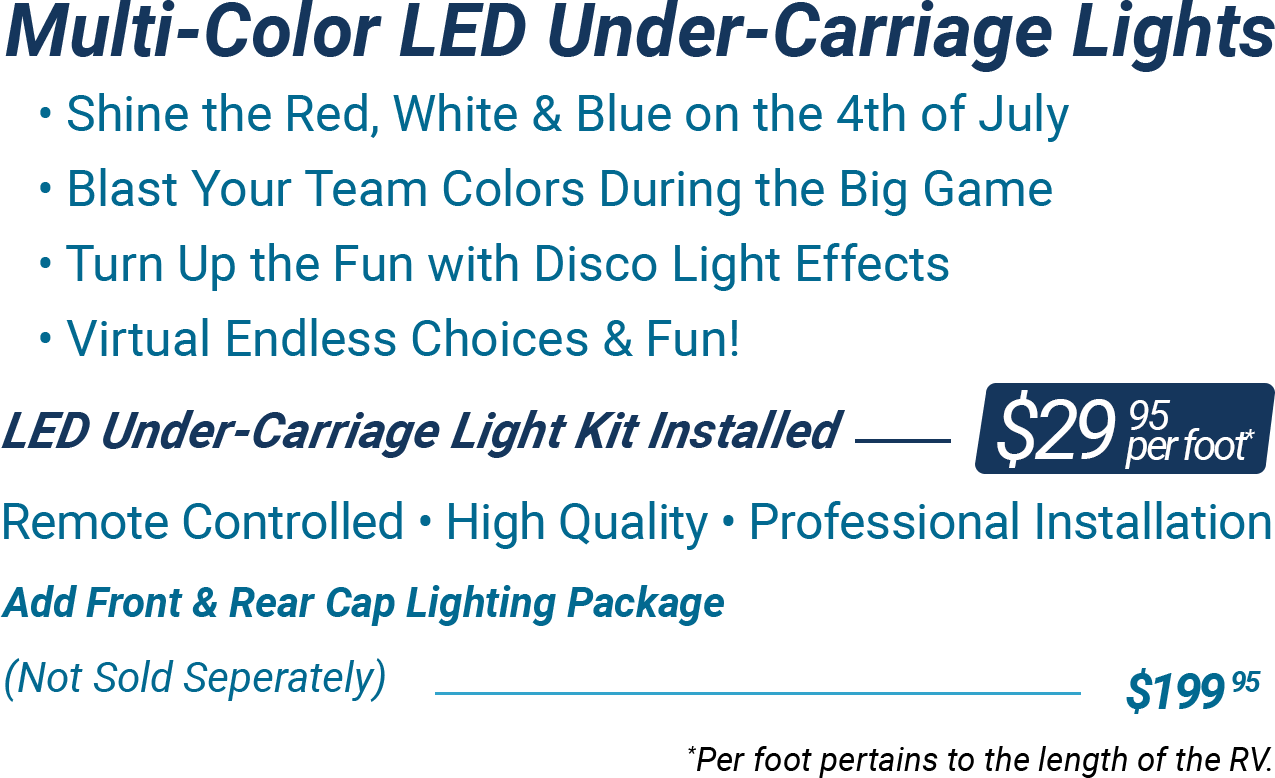 Parts & Services LED Light Package Upgrade