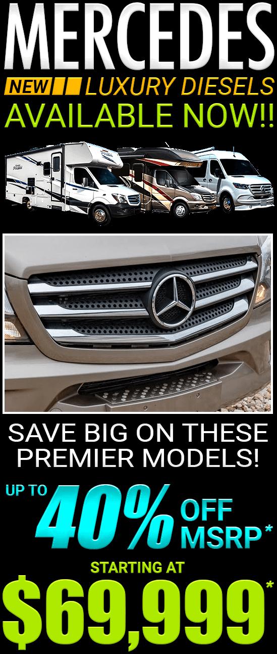 Sidebar Mercedes Sprinter Luxury Diesel