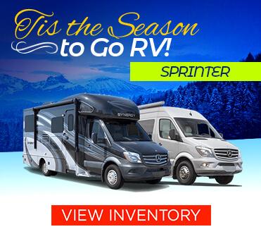 Tis The Season to Go RV Sprinter Chassis