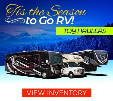 Tis The Season to Go RV Toy Hauler
