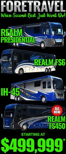 Sidebar Foretravel Motorcoach