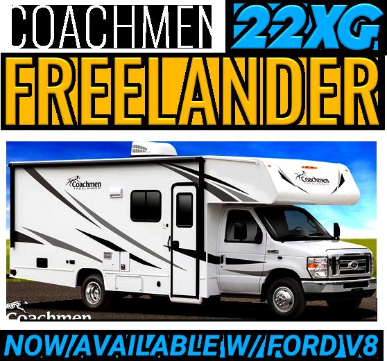 Sidebar Coachmen Freelander 22XG